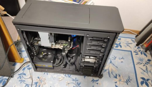【実践③】ケースに電源とグラフィックボード、マザーボードの取り付け。配線で使用するケーブルコネクタの種類まとめ【自作PC初心者】