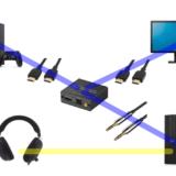 HDMI分離器を使ってPCとPS4(Switch)の音を同時に聞く方法。ジャックの無いモニターでも大丈夫です!